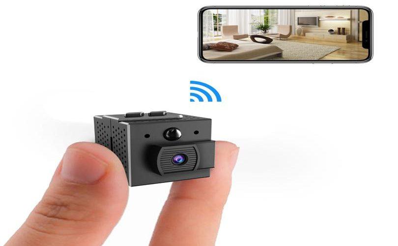 caméra espion maison